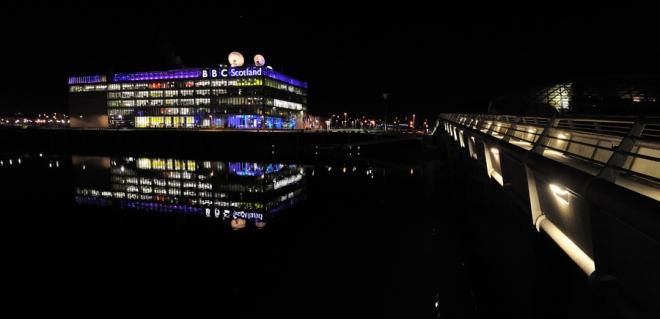 BBC Scotland after dark