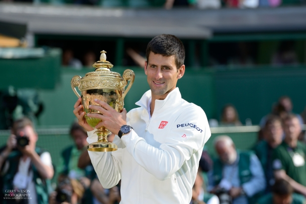 The Wimbledon Gentlemen's Final – My Front Row View