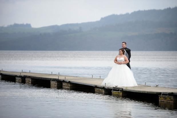 Lynn and David – The Cruin LochLomond