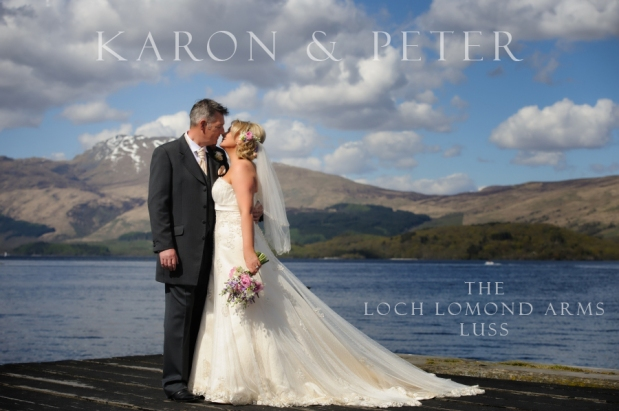 Karon and Peter – The Loch Lomond Arms Hotel, Luss