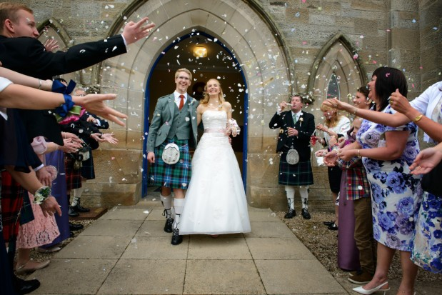 Fiona and Chris – Rankin Church and The StrathavenHotel